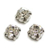 爪付ダイヤモンドカット・ロジウム
