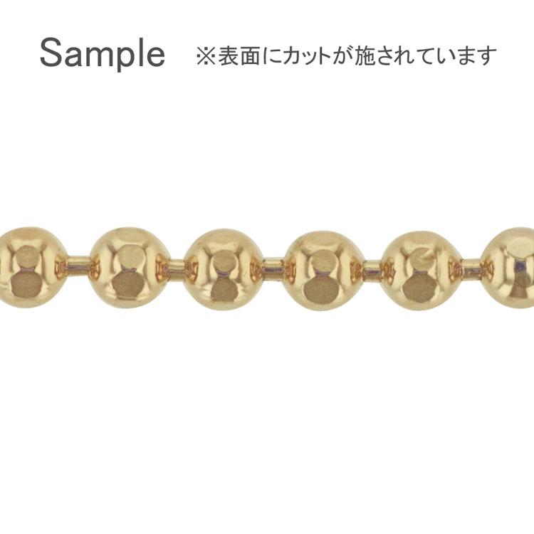 チェーン(055) / ライトゴールド / 100cm