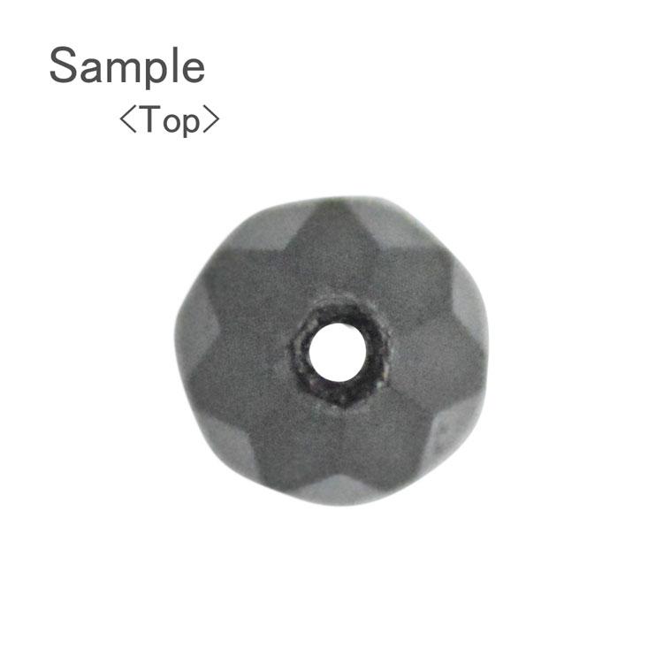 チェコカットビーズ / カットしずく / トパーズ / 8×6mm