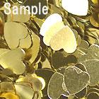 ハート型チップ(1008)/ ゴールド / 約1.5g