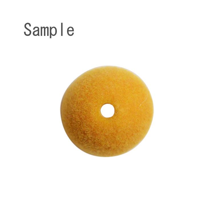 フロッキービーズ / 丸玉 / PU / 約12mm