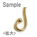 ゴールドフィルド / フックピアス(4006418) / 2pcs