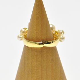オリジナルキット / rosy pearl ring ロージーパールリング(ホワイト)
