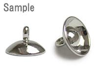 ガラスドーム用キャップ 穴径3〜5.5mm用(1515) / R