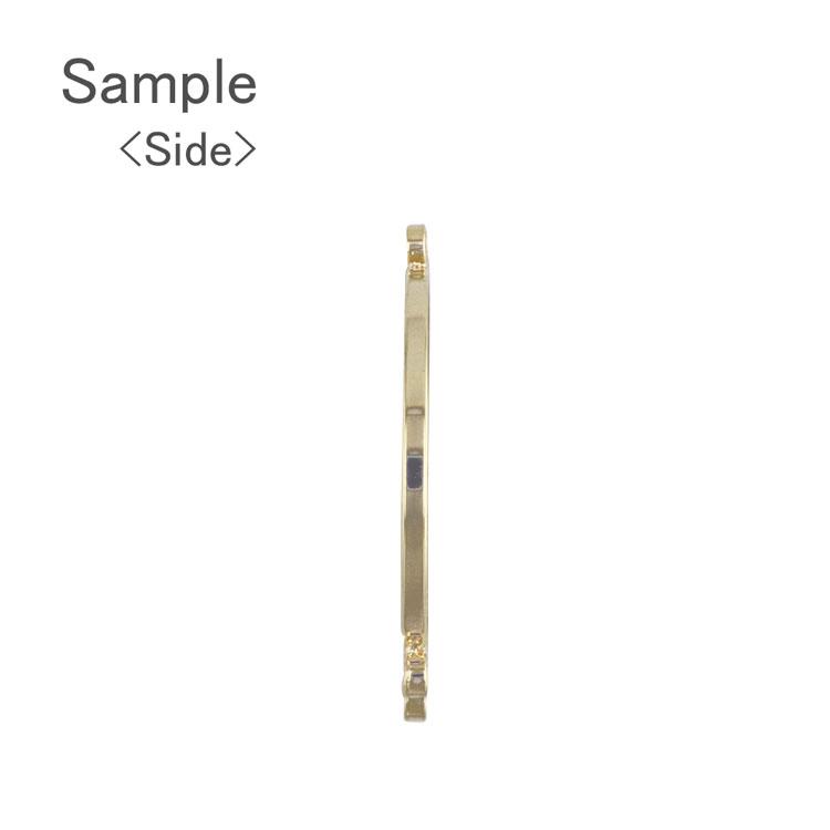 メタルパーツ / カン付デザインフープ(ラウンド・3261) / R