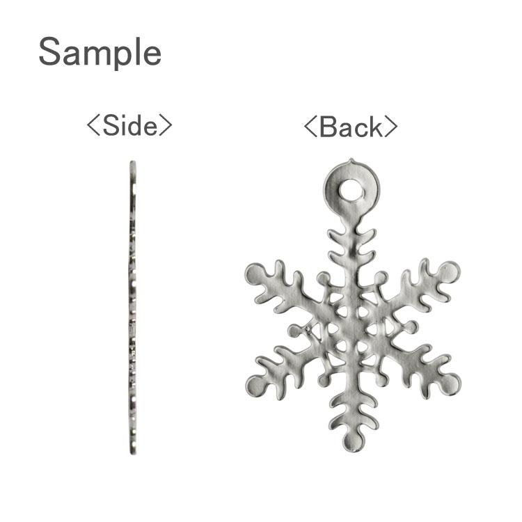 メタルパーツ・雪の結晶(小・855) / G5