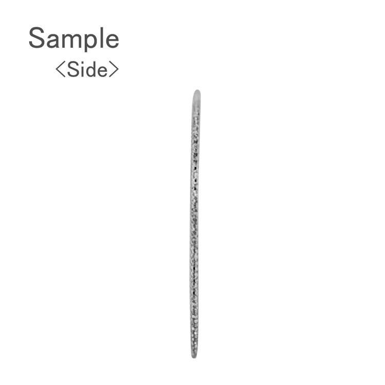 メタルパーツ / デザインワイヤーフープ ラウンド(2787) / R / 外径約25mm