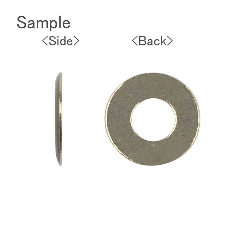 メタルカラーフープ(ラウンド/3053) / RD・G5 / 外径約15mm