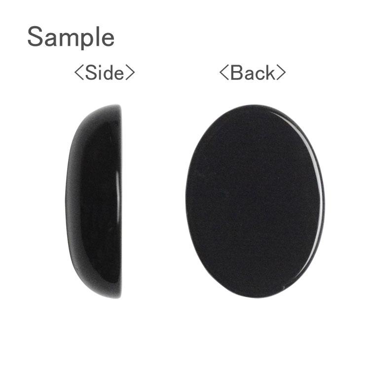 天然石 / オーバル(平底・穴なし) / ラピスラズリ(染色) / 約18×13×5mm