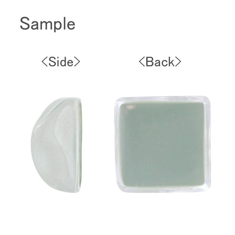 プラスチックパーツ / アクリル(貼付用)/ 変形スクエア(831) / 2 / 約16mm