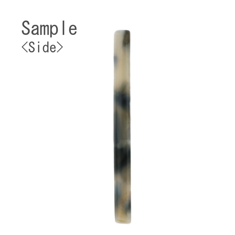 プラスチックパーツ / アクリル スクエアフープ(トップホール・608) / 01 / 約30×13mm