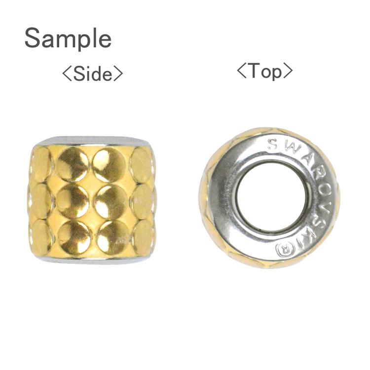 スワロフスキー・クリスタル#80 701 ゴールド ポリッシュ 9.5mm