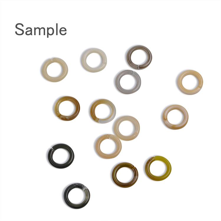 プラスチックパーツ / アクリルフープ(ラウンド 開閉・693)/ 3 / 約18mm