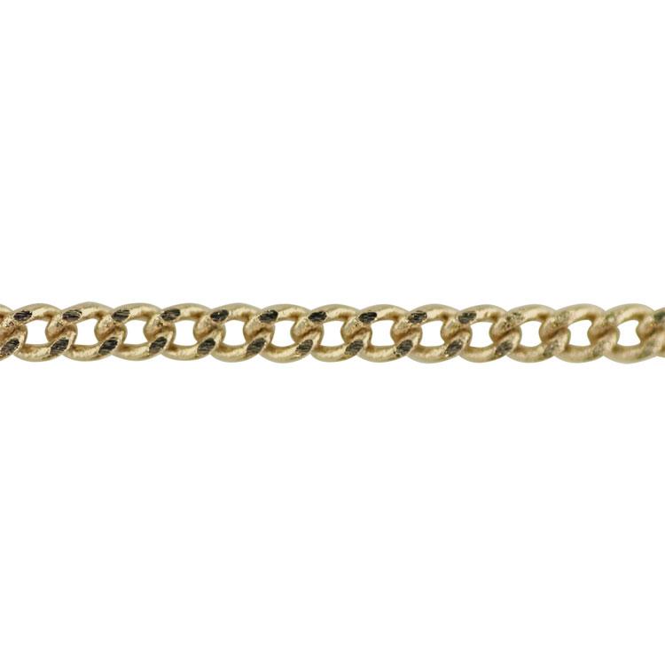 チェーン(029) / ライトゴールド / 100cm