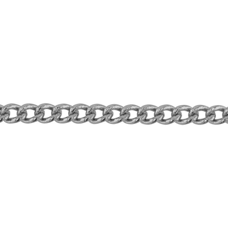 チェーン(029) / ロジウム / 100cm