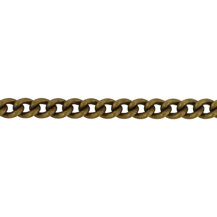 チェーン(029) / 真鍮古美 / 100cm