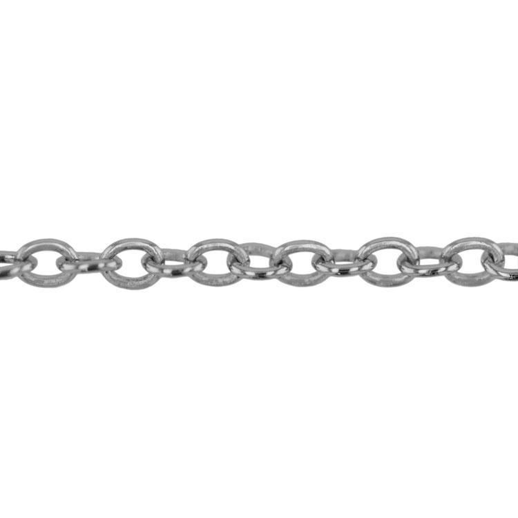 チェーン(031) / ロジウム / 100cm