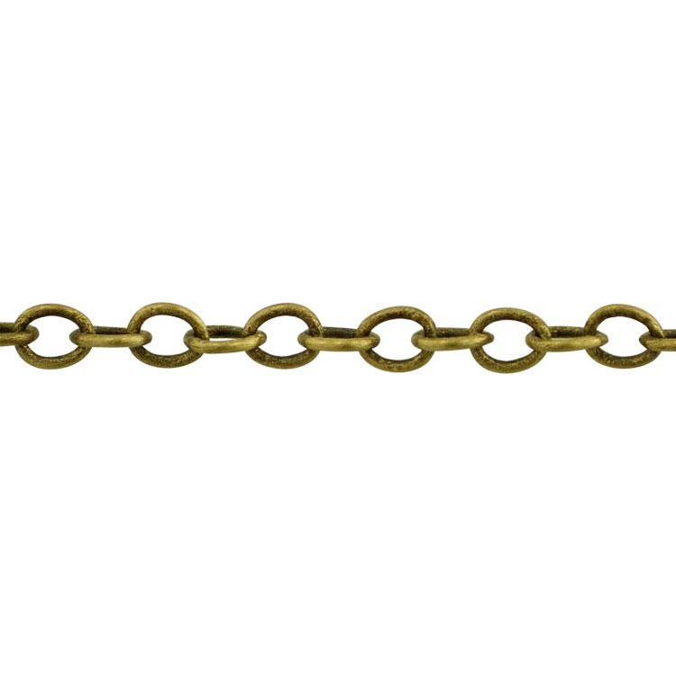 チェーン(037) / 真鍮古美 / 100cm