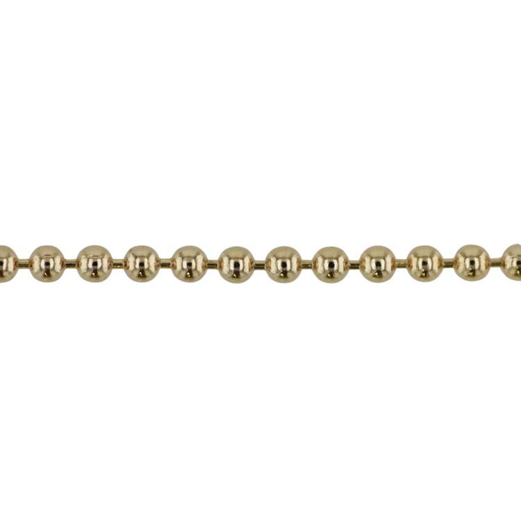 チェーン(054) / ライトゴールド / 100cm