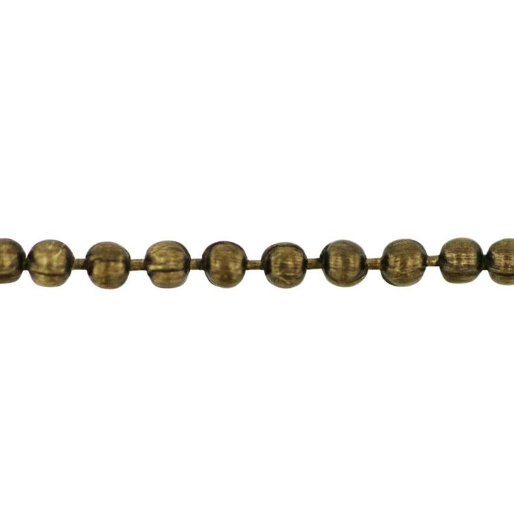 チェーン(058) / 真鍮古美 / 40cm / 留め具付