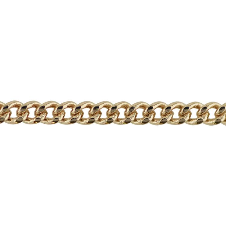 チェーン(283) / ライトゴールド / 100cm