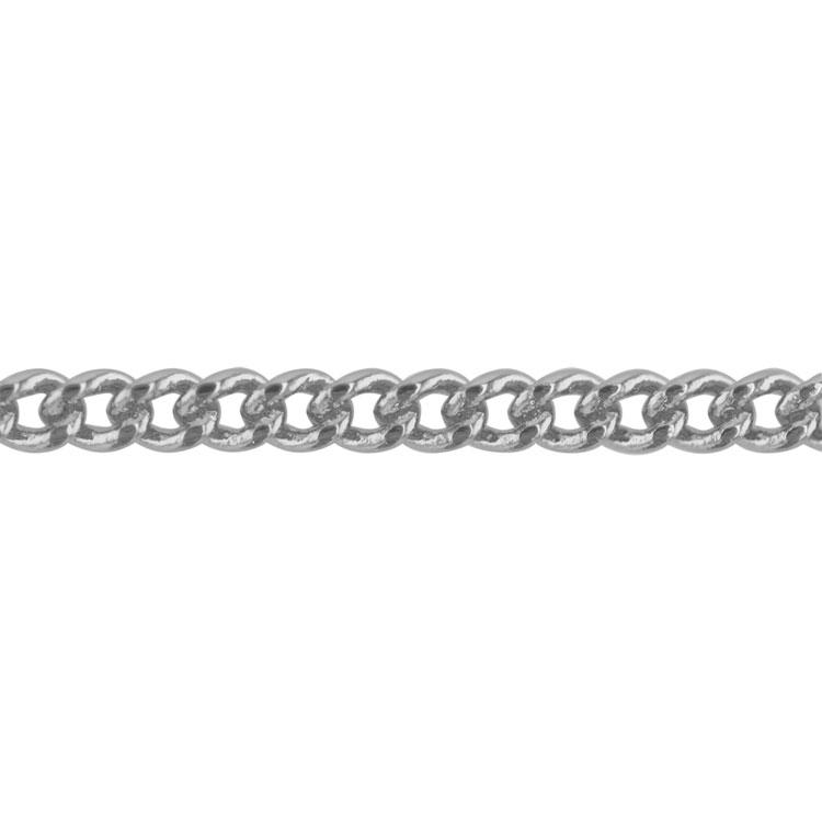 チェーン(283) / ロジウム / 100cm