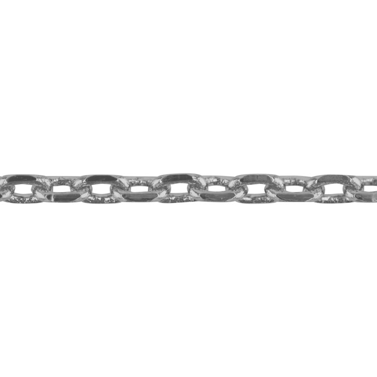 チェーン(272) / ロジウム / 50cm / 留め具付