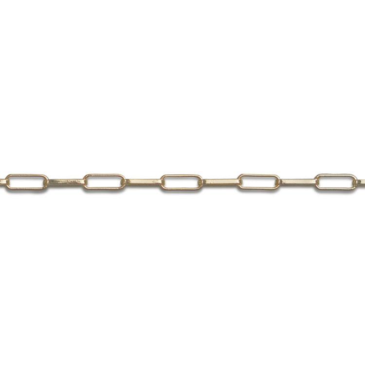 チェーン(510) / ライトゴールド / 50cm