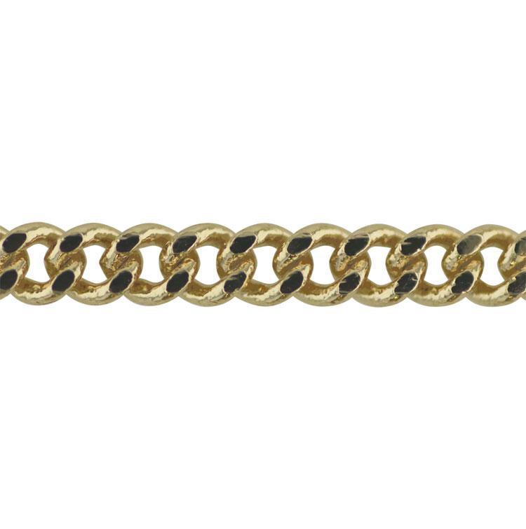 チェーン(284) / ライトゴールド / 100cm