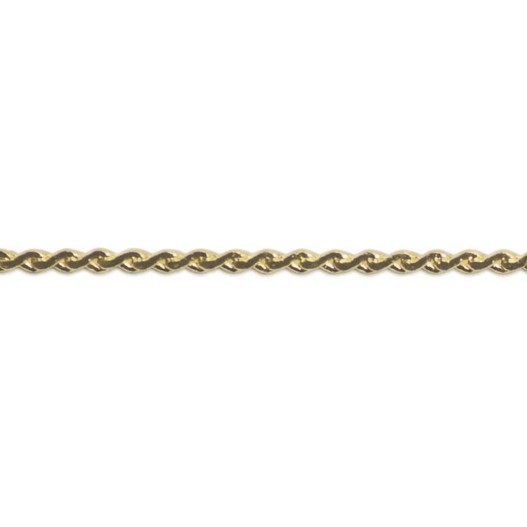 チェーン(477) / ライトゴールド / 100cm