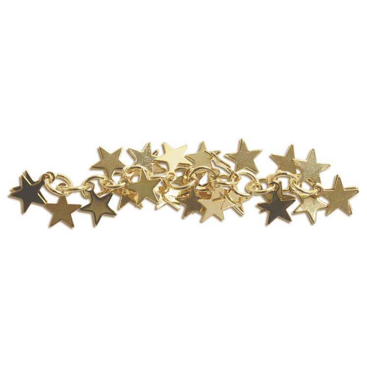 チェーン(星・1717) / ライトゴールド / 約5cm