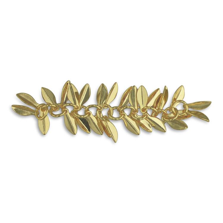チェーン(リーフ・2288) / ライトゴールド / 約5cm