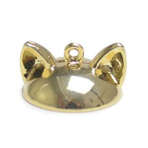 ガラスドーム15mm用キャップ・猫耳(3261) / G5