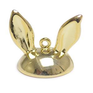 ガラスドーム15mm用キャップ・うさぎ耳(3262) / G5