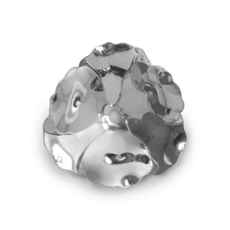 メタルパーツ / フラワー(2413) / R / 約14mm
