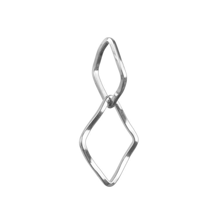 メタルパーツ / 連結フープ ダイヤ(3258) / R