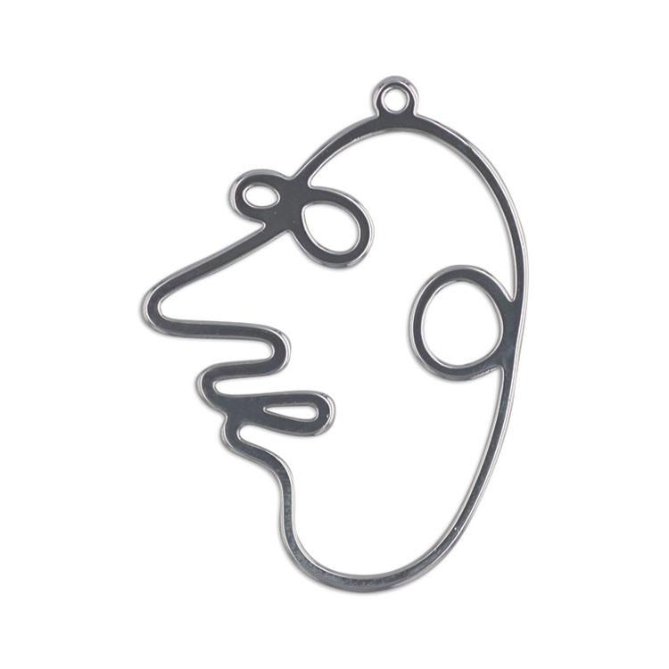 メタルパーツ / フェイス(3381) / R