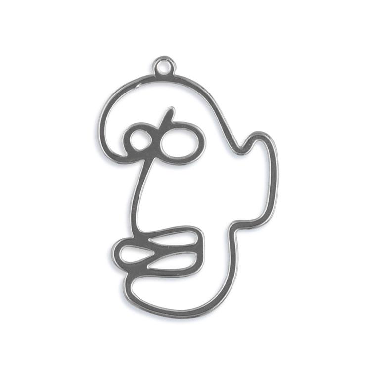 メタルパーツ / フェイス(3382) / R