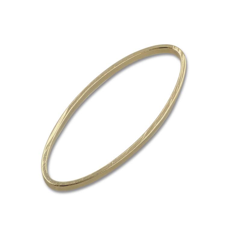 メタルフープ(楕円/865) / G5 / 約40×20mm / 4pcs