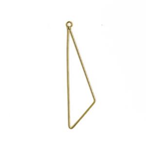 メタルパーツ / ワイヤーフープ 三角(1638) / G5