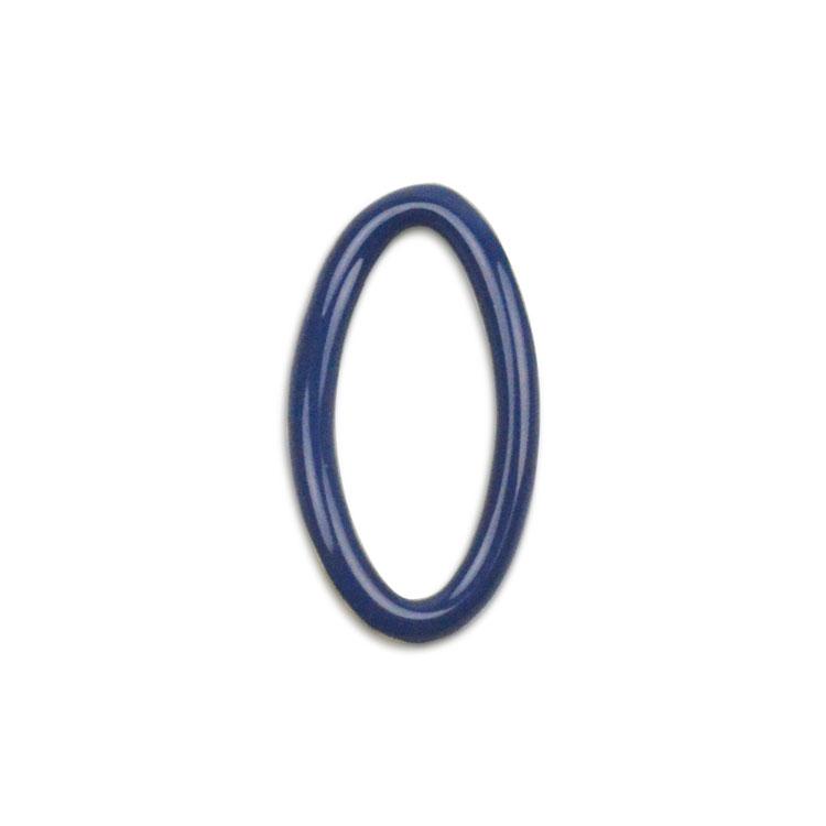 メタルカラーフープ(変形オーバル/3049) / BU・G5 / 外径約17.5×9.5mm