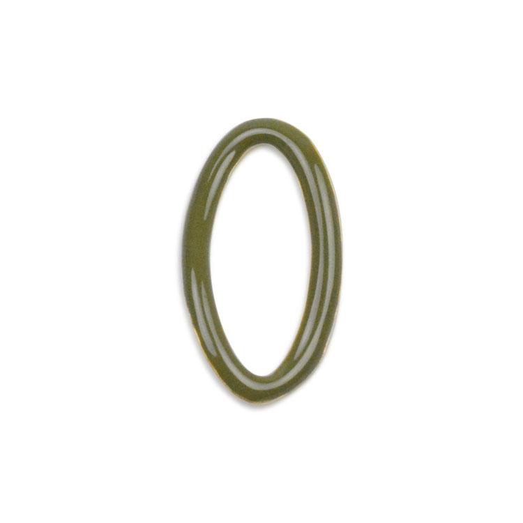 メタルカラーフープ(変形オーバル/3049) / GR・G5 / 外径約17.5×9.5mm