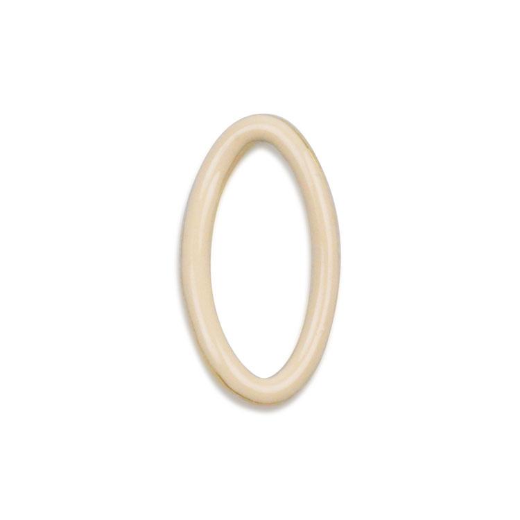 メタルカラーフープ(変形オーバル/3049) / WH・G5 / 外径約17.5×9.5mm