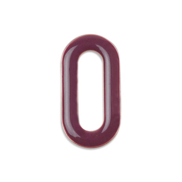 メタルカラーフープ(オーバル/3052) / RD・G5 / 外径約22×11mm