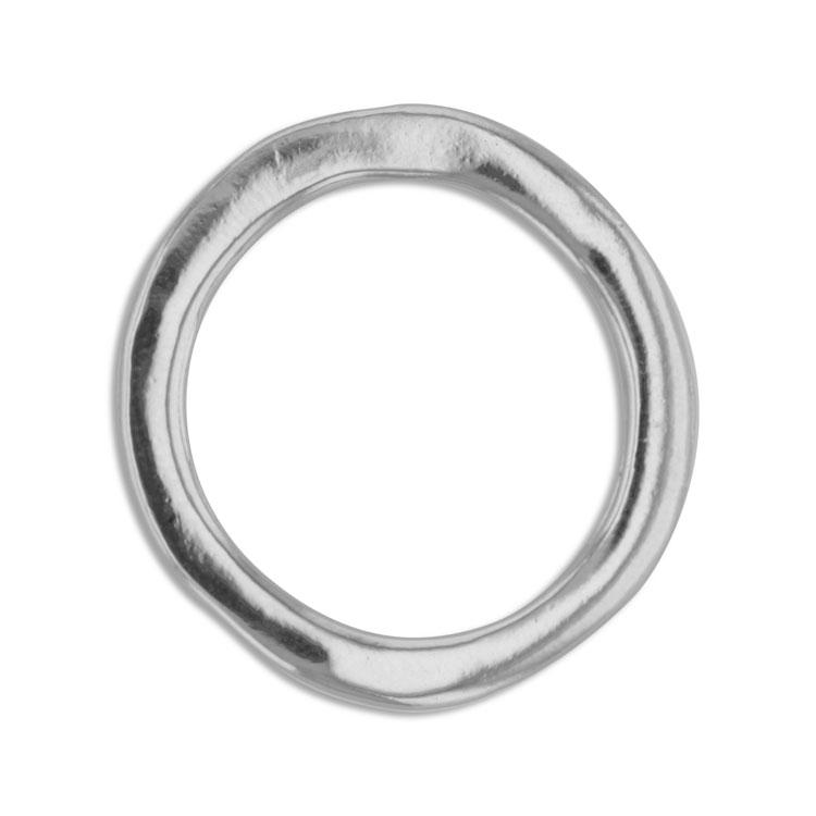 メタルフープ(ラウンド/3487) / R / 外径約25mm