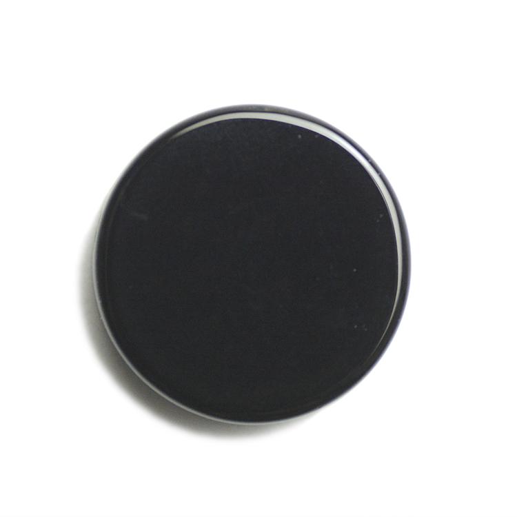 天然石 / コイン(通し穴有り) / オニキス(染色) / 約16mm