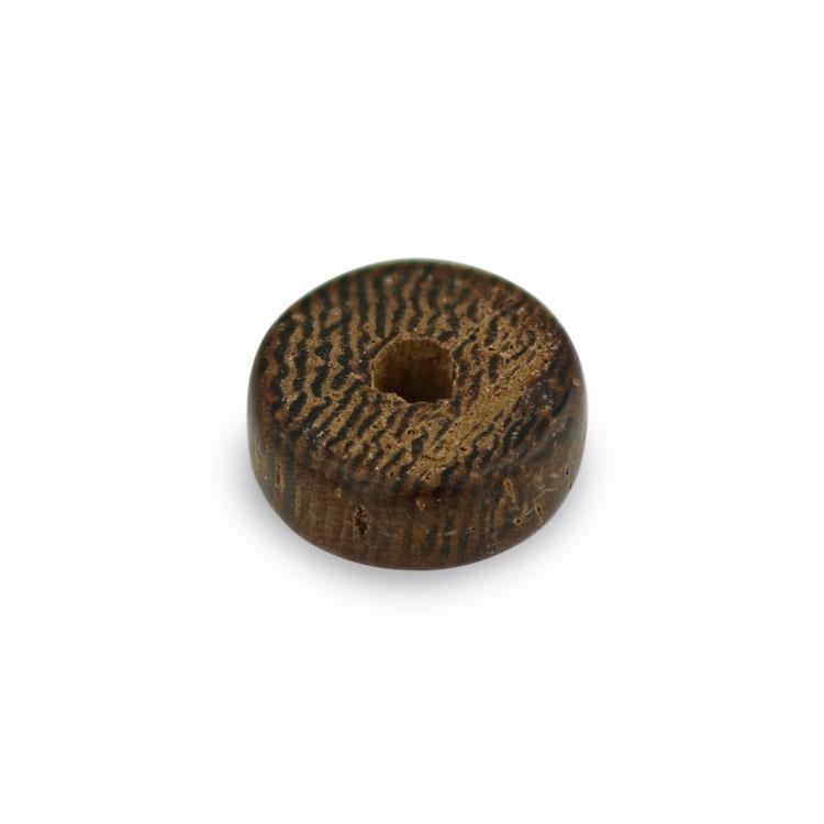 ウッドビーズ / フラットビーズ(1165)/ ロブレウッド / 約4×10mm