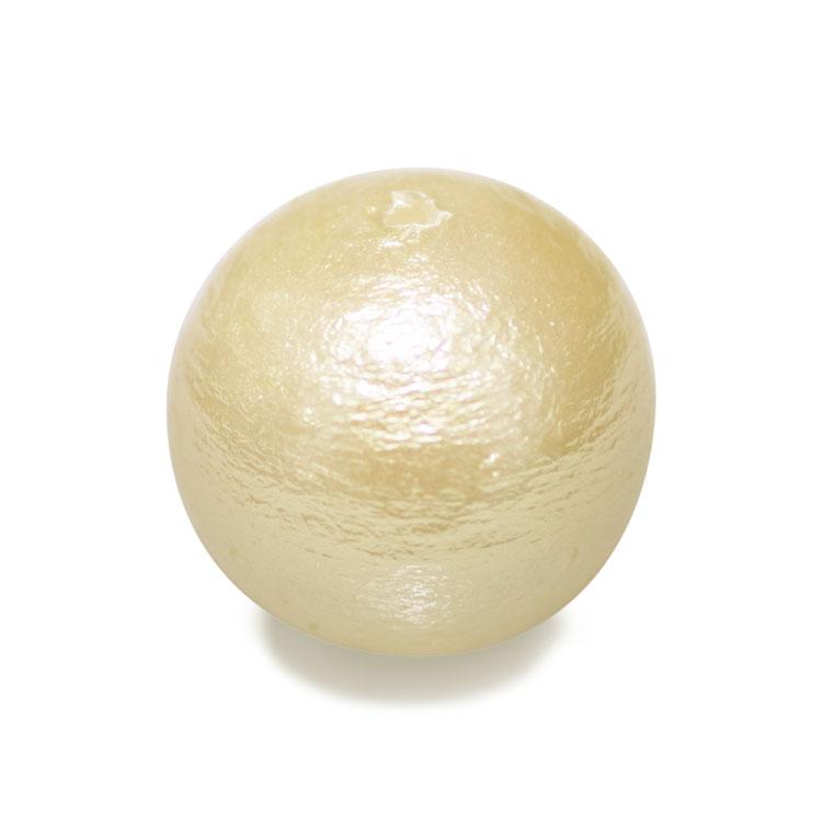 コットンパール(ラウンド) / キスカ / 約10mm / 特大袋