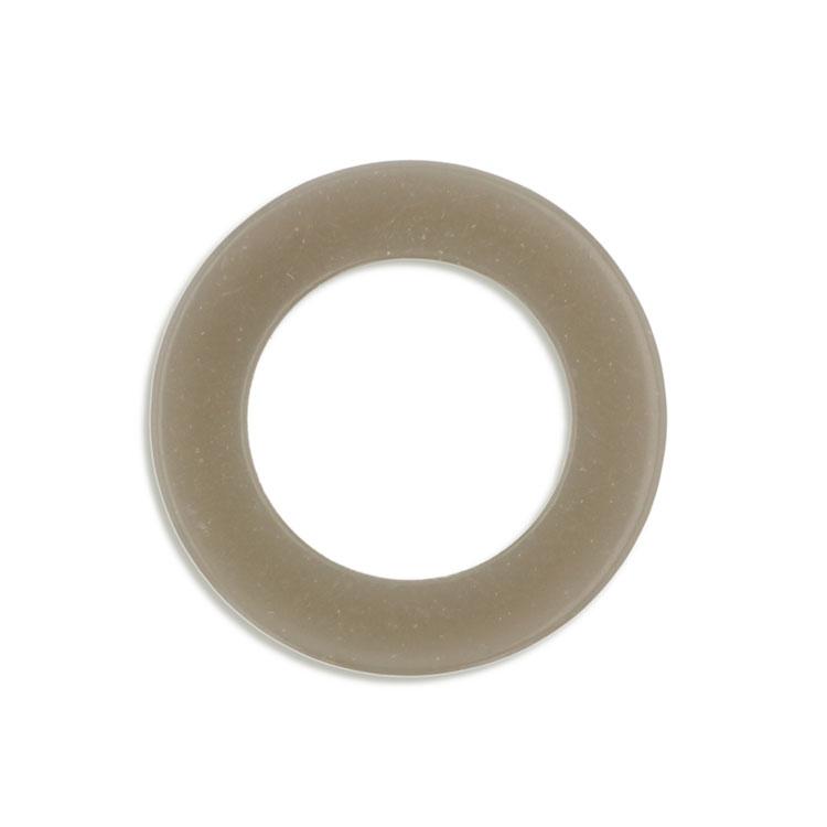 プラスチックパーツ / アクリル リング(2527) / GY / 約25mm