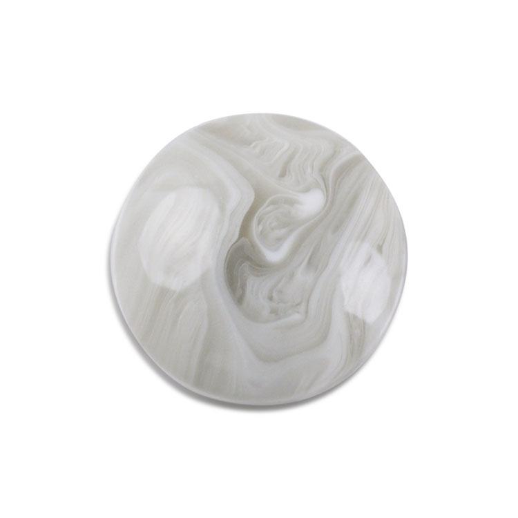 プラスチックパーツ / アクリル 平半丸(2702) / GY / 約18mm